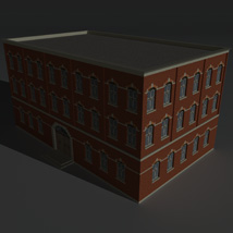 Low Poly Factory Building 4 - Extended Licence image 2
