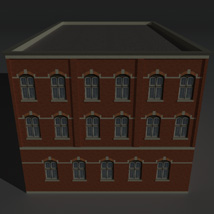 Low Poly Factory Building 4 - Extended Licence image 3