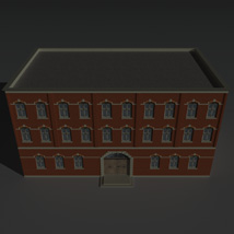 Low Poly Factory Building 4 - Extended Licence image 5