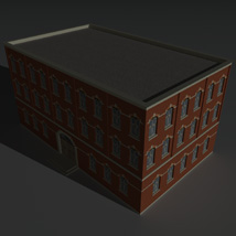 Low Poly Factory Building 4 - Extended Licence image 6