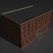Low Poly Factory Building 4 - Extended Licence image 8