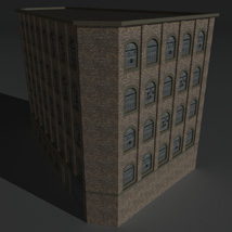 Low Poly Factory Building 5 - Extended Licence image 2