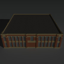 Low Poly Factory Building 6 - Extended Licence image 7