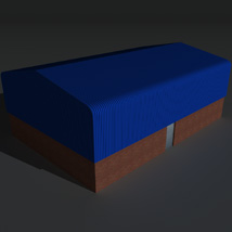 Low Poly Factory Building 7 - Extended Licence image 4