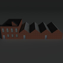 Low Poly Factory Building 8 - Extended Licence image 5