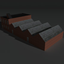 Low Poly Factory Building 8 - Extended Licence image 6