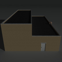 Low Poly Factory Building 11 - Extended Licence image 3