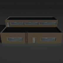 Low Poly Factory Building 11 - Extended Licence image 5