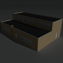 Low Poly Factory Building 11 - Extended Licence image 6