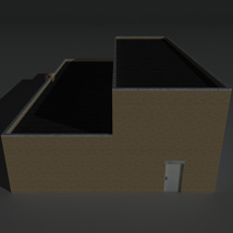 Low Poly Factory Building 11 - Extended Licence image 7