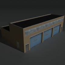 Low Poly Factory Building 11 - Extended Licence image 8