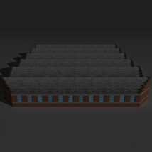 Low Poly Factory Building 12 - Extended Licence image 3