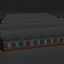 Low Poly Factory Building 12 - Extended Licence image 7