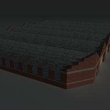 Low Poly Factory Building 12 - Extended Licence image 8
