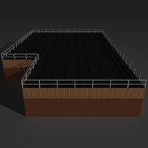 Low Poly Factory Building 15 - Extended Licence image 3