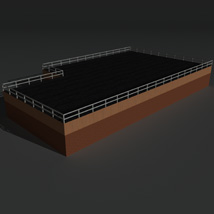 Low Poly Factory Building 15 - Extended Licence image 4