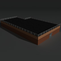 Low Poly Factory Building 15 - Extended Licence image 6