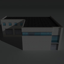 Low Poly Factory Building 16 - Extended Licence image 1