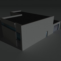 Low Poly Factory Building 16 - Extended Licence image 2