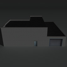 Low Poly Factory Building 16 - Extended Licence image 3