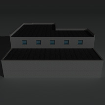 Low Poly Factory Building 16 - Extended Licence image 5