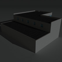 Low Poly Factory Building 16 - Extended Licence image 6