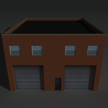 Low Poly Factory Building 19 - Extended Licence image 1