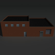 Low Poly Factory Building 19 - Extended Licence image 3