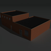 Low Poly Factory Building 19 - Extended Licence image 4