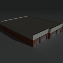 Low Poly Factory Building 20 - Extended Licence image 8