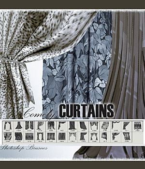 Comely CURTAINS 2D Graphics RajRaja