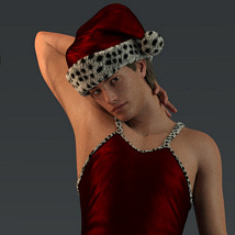 Holiday Dress for Genesis 8 Males image 7