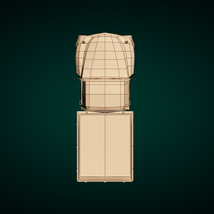 Low-Poly Cartoon Vintage Pickup - Extended License image 11
