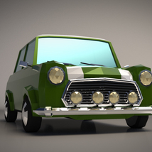 Low-Poly Cartoon City Car - Extended License  image 5