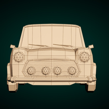 Low-Poly Cartoon City Car - Extended License  image 8