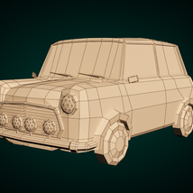 Low-Poly Cartoon City Car - Extended License  image 12