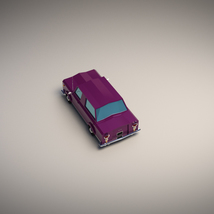 Low-Poly Cartoon Limousine Car - Extended License  image 3