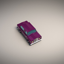 Low-Poly Cartoon Limousine Car - Extended License  image 4