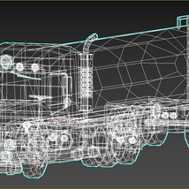 Low-Poly Cartoon Tank Truck - Extended License  image 12