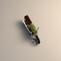 Low-Poly Cartoon Motorcycle - Extended License  image 4