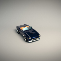 Low-Poly Cartoon Roadster  - Extended License  image 4