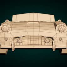 Low-Poly Cartoon Roadster  - Extended License  image 8