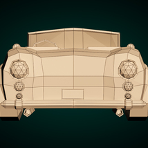 Low-Poly Cartoon Roadster  - Extended License  image 10