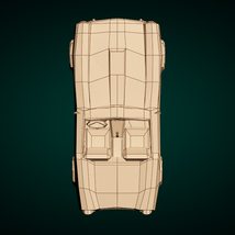 Low-Poly Cartoon Roadster  - Extended License  image 11