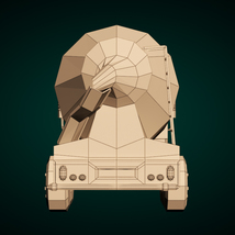 Low-Poly Cartoon Concrete Mixer Truck - Extended License  image 10
