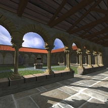 CLOISTER OF BERDOUES image 2