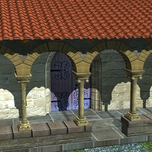 CLOISTER OF BERDOUES image 4