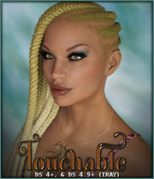 Touchable Jumbo Side Braids 3D Figure Assets -Wolfie-