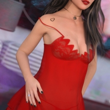 Ultimo for Fatal Attraction Outfit Set for Genesis 8 Females image 6