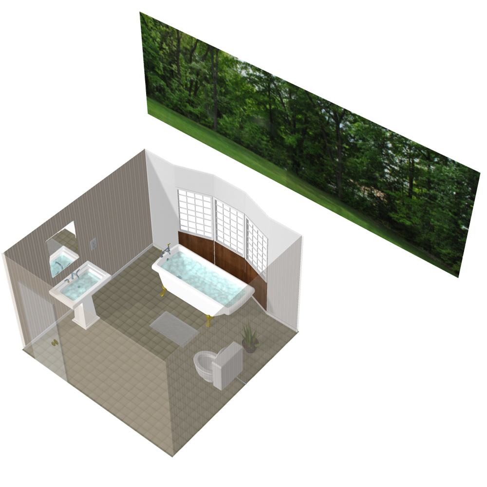 Comfortable Bathroom - for Poser  by VanishingPoint
